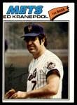 1977 O-Pee-Chee #60  Ed Kranepool  Front Thumbnail