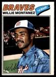 1977 O-Pee-Chee #79  Willie Montanez  Front Thumbnail