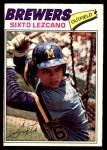 1977 O-Pee-Chee #71  Sixto Lezcano  Front Thumbnail