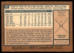 1978 O-Pee-Chee #87  Bill Campbell  Back Thumbnail