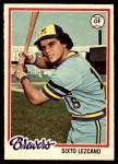 1978 O-Pee-Chee #102  Sixto Lezcano  Front Thumbnail