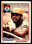 1978 O-Pee-Chee #60  Dave Parker  Front Thumbnail