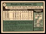 1979 O-Pee-Chee #258  Al Cowens  Back Thumbnail