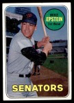 1969 Topps #461 YN Mike Epstein  Front Thumbnail