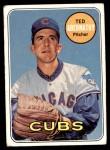 1969 Topps #483  Ted Abernathy  Front Thumbnail
