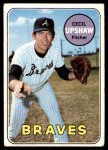 1969 Topps #568  Cecil Upshaw  Front Thumbnail