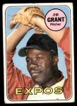 1969 Topps #306  Mudcat Grant  Front Thumbnail