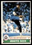 1979 O-Pee-Chee #108  Wilbur Wood  Front Thumbnail