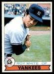 1979 O-Pee-Chee #75  Roy White  Front Thumbnail