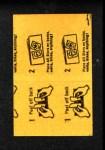 1963 Topps Peel-Offs #39  Jack Sanford  Back Thumbnail