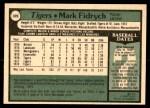 1979 O-Pee-Chee #329  Mark Fidrych  Back Thumbnail