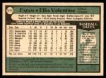 1979 O-Pee-Chee #277  Ellis Valentine  Back Thumbnail