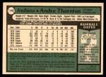 1979 O-Pee-Chee #140  Andre Thornton  Back Thumbnail