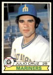 1979 O-Pee-Chee #305  Julio Cruz  Front Thumbnail