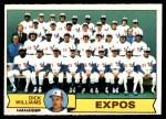 1979 O-Pee-Chee #349   Expos Team Checklist Front Thumbnail