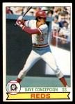 1979 O-Pee-Chee #234  Dave Concepcion  Front Thumbnail
