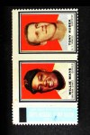 1962 Topps Stamp Panels  Willie Mays / Tony Kubek  Front Thumbnail
