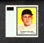 1962 Topps Stamps  Steve Bilko  Front Thumbnail