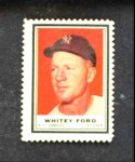1962 Topps Stamps  Whitey Ford  Front Thumbnail
