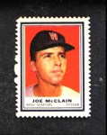 1962 Topps Stamps  Joe McClain  Front Thumbnail