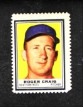 1962 Topps Stamps  Roger Craig  Front Thumbnail