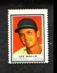 1962 Topps Stamps  Lee Walls  Front Thumbnail