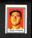 1962 Topps Stamps  Frank Howard  Front Thumbnail
