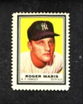 1962 Topps Stamps  Roger Maris  Front Thumbnail