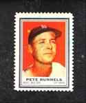 1962 Topps Stamps  Pete Runnels  Front Thumbnail