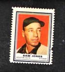 1962 Topps Stamps  Sam Jones  Front Thumbnail