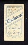 1909 T206 HOU Foley White  Back Thumbnail