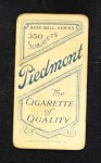 1909 T206  Jack Quinn  Back Thumbnail
