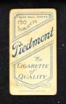 1909 T206  Kitty Bransfield  Back Thumbnail