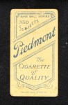 1909 T206  Shad Barry  Back Thumbnail