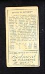 1911 T205  Jimmy Dygert  Back Thumbnail