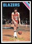 1975 Topps #165  Geoff Petrie  Front Thumbnail