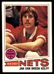 1977 Topps #109  Jan Van Breda Kolff  Front Thumbnail
