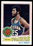 1977 Topps #110  Billy Knight  Front Thumbnail