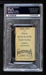 1910 T209-2 Contentnea  Roth  Back Thumbnail