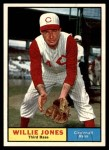 1961 Topps #497  Willie Jones  Front Thumbnail