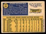 1970 Topps #404  Rich Reese  Back Thumbnail