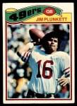 1977 Topps #331  Jim Plunkett  Front Thumbnail