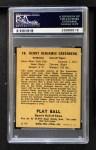 1941 Play Ball #18  Hank Greenberg  Back Thumbnail