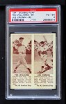 1941 Double Play #81  / 82 Ted Williams / Joe Cronin  Front Thumbnail