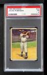 1950 Bowman #22  Jackie Robinson  Front Thumbnail
