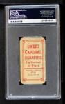 1909 T206 POR Christy Mathewson  Back Thumbnail