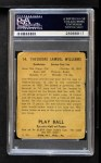 1941 Play Ball #14  Ted Williams  Back Thumbnail