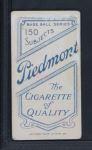 1909 T206  Mike Powers  Back Thumbnail