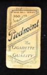 1909 T206  Gus Dorner  Back Thumbnail