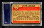 1953 Bowman #128  Whitey Lockman  Back Thumbnail